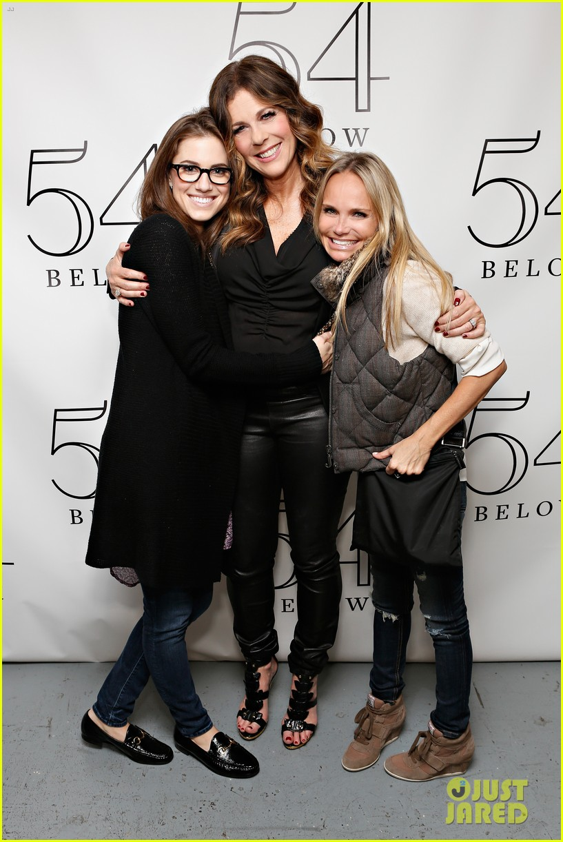 allison williams kristin chenoweth rita wilson at 54 below 032852423