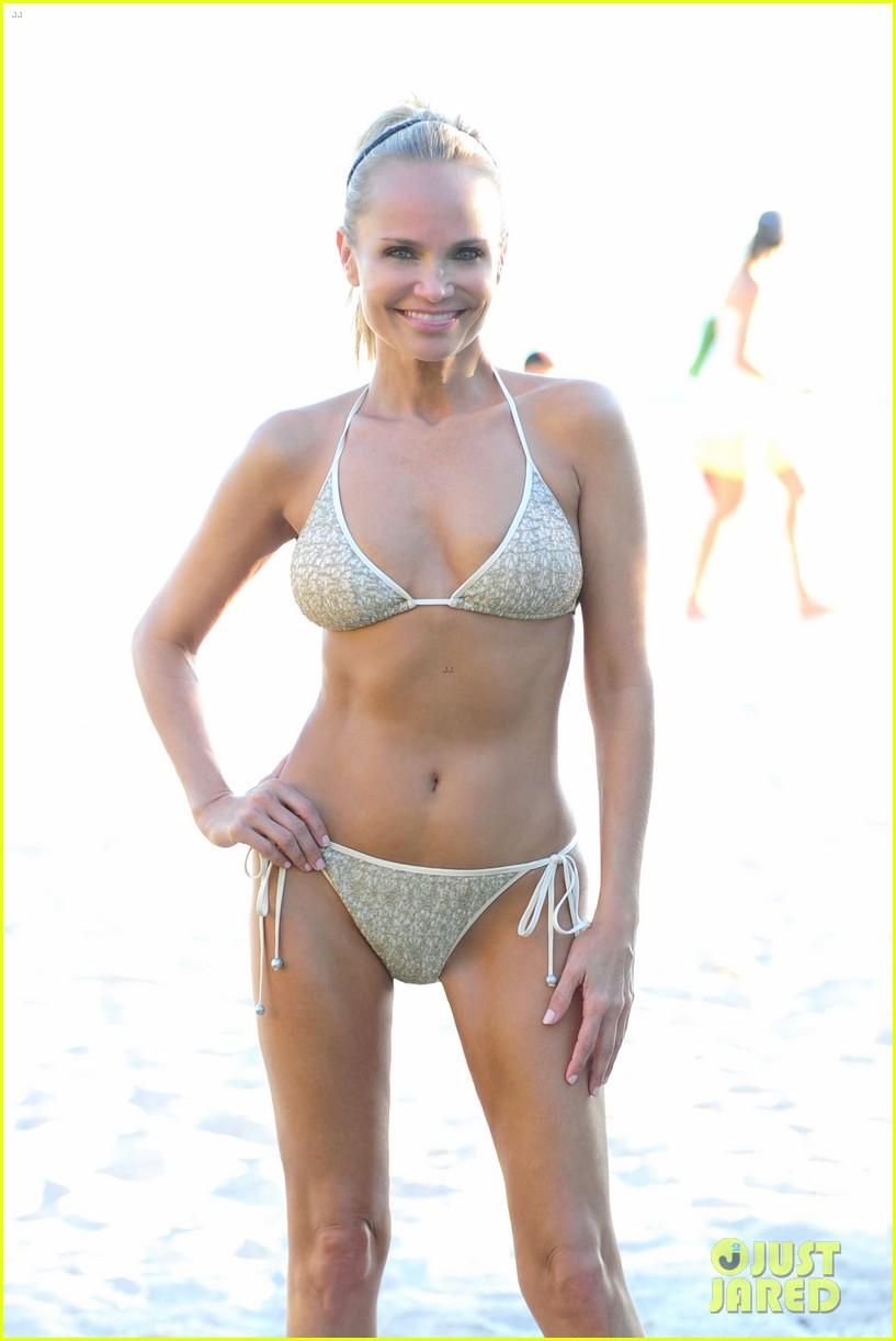 kristin chenoweth bikini babe in punta mita 04