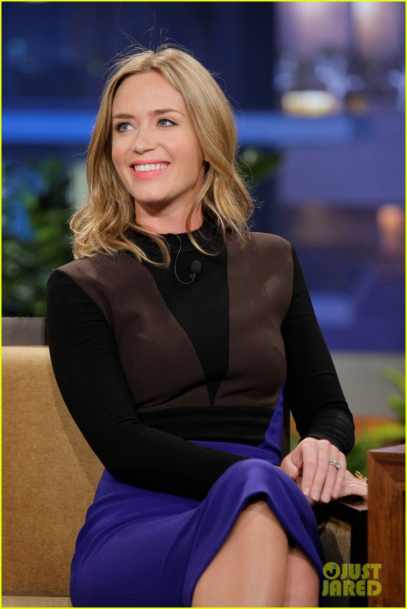tom cruise emily blunt jay leno appearances 052857595