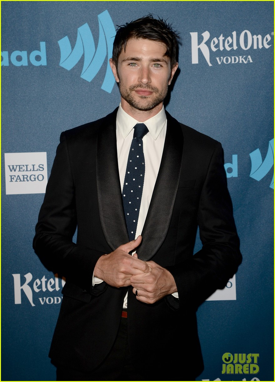 matt dallas blue hamilton glaad media awards 2013 05