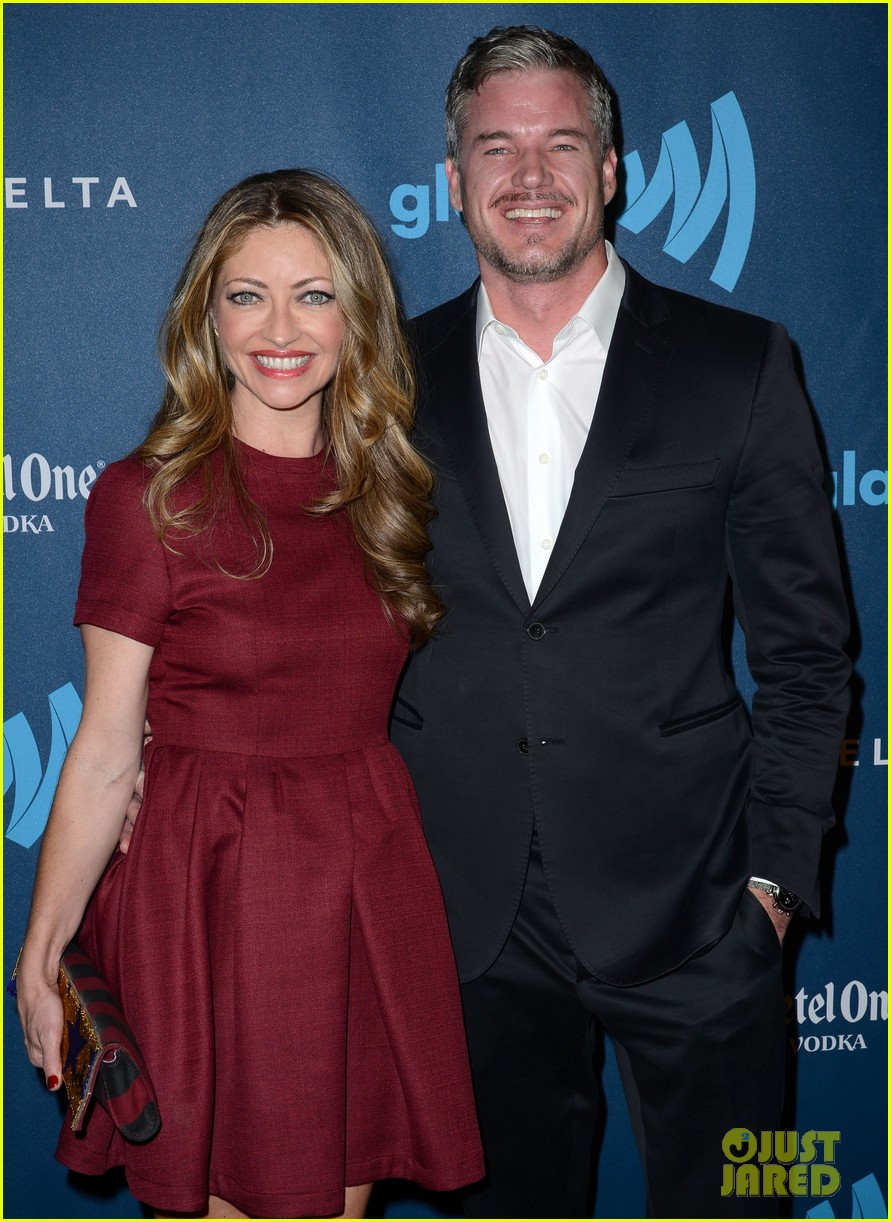 eric dane rebecca gayheart glaad media awards 2013 02