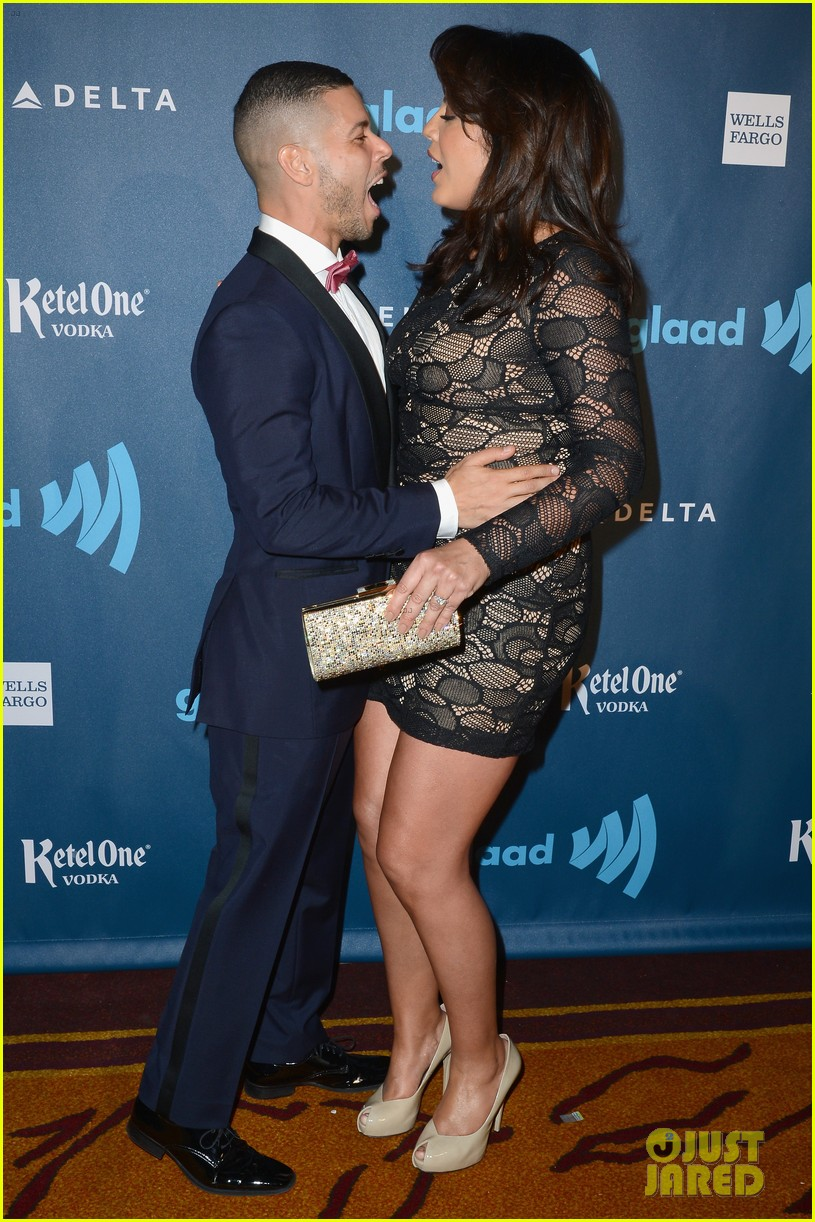 eric dane rebecca gayheart glaad media awards 2013 11