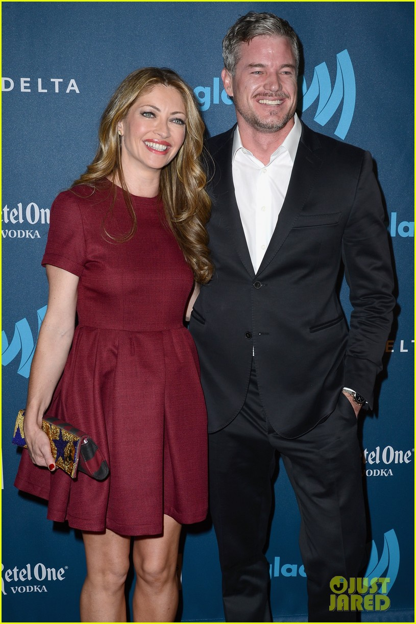 eric dane rebecca gayheart glaad media awards 2013 222854563