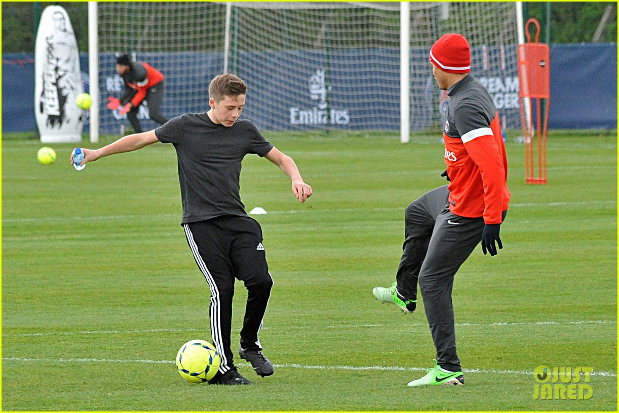 david beckham soccer camp with his sons 272853825