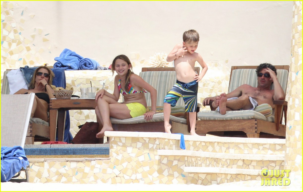 patrick dempsey shirtless mexico vacation with the family 16
