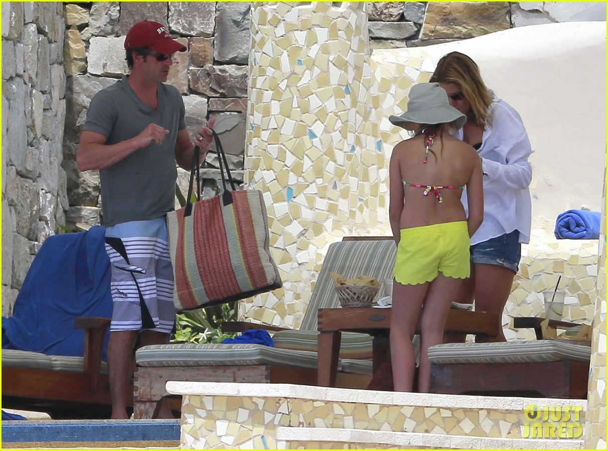 patrick dempsey shirtless mexico vacation with the family 26