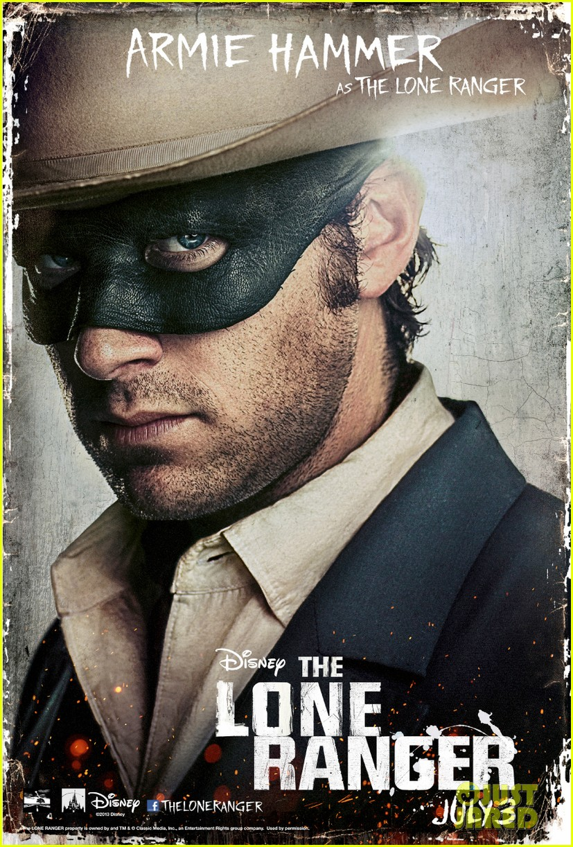 johnny depp lone ranger final trailer character posters 01