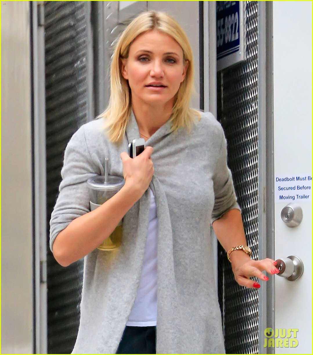 cameron diaz the other woman set break 04
