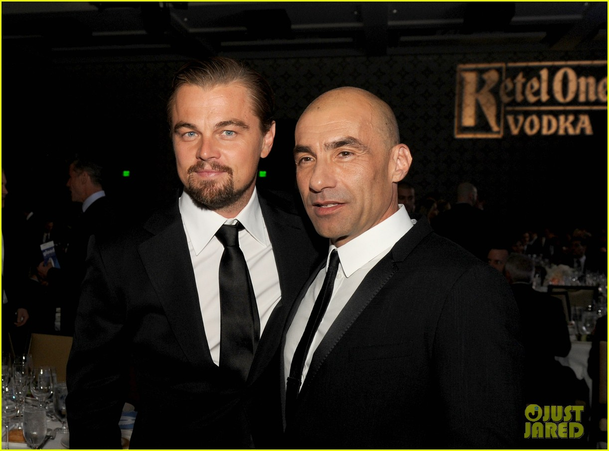 leonardo dicaprio tobey maguire glaad media awards 2013 09