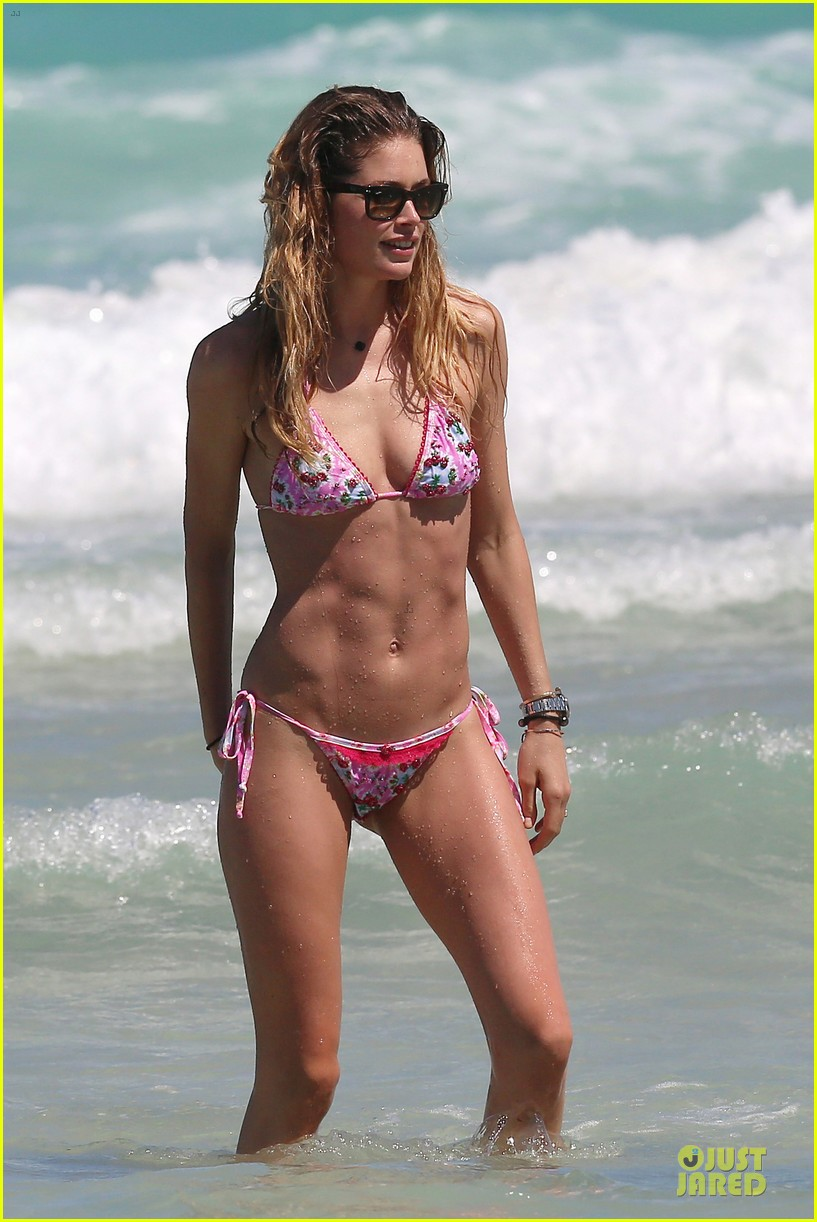 doutzen kroes bikini photo shoot with sunnery james 40