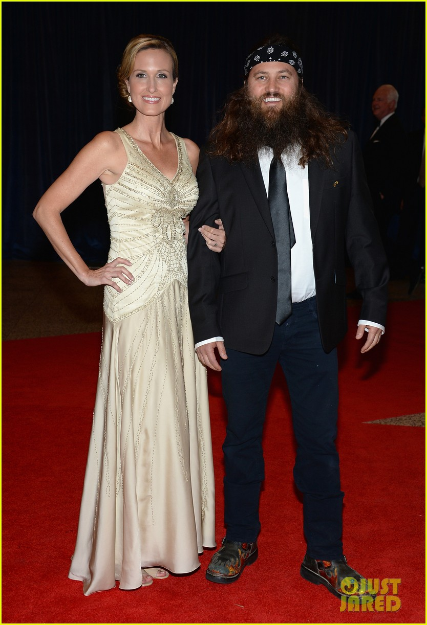 duck dynasty stars white house correspondents dinner 2013 01