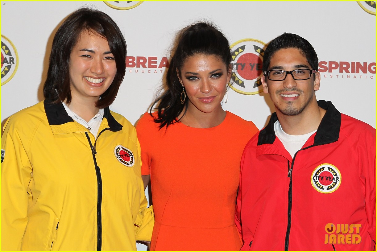 ed westwick jessica szohr city year los angeles fundraiser 2013 11