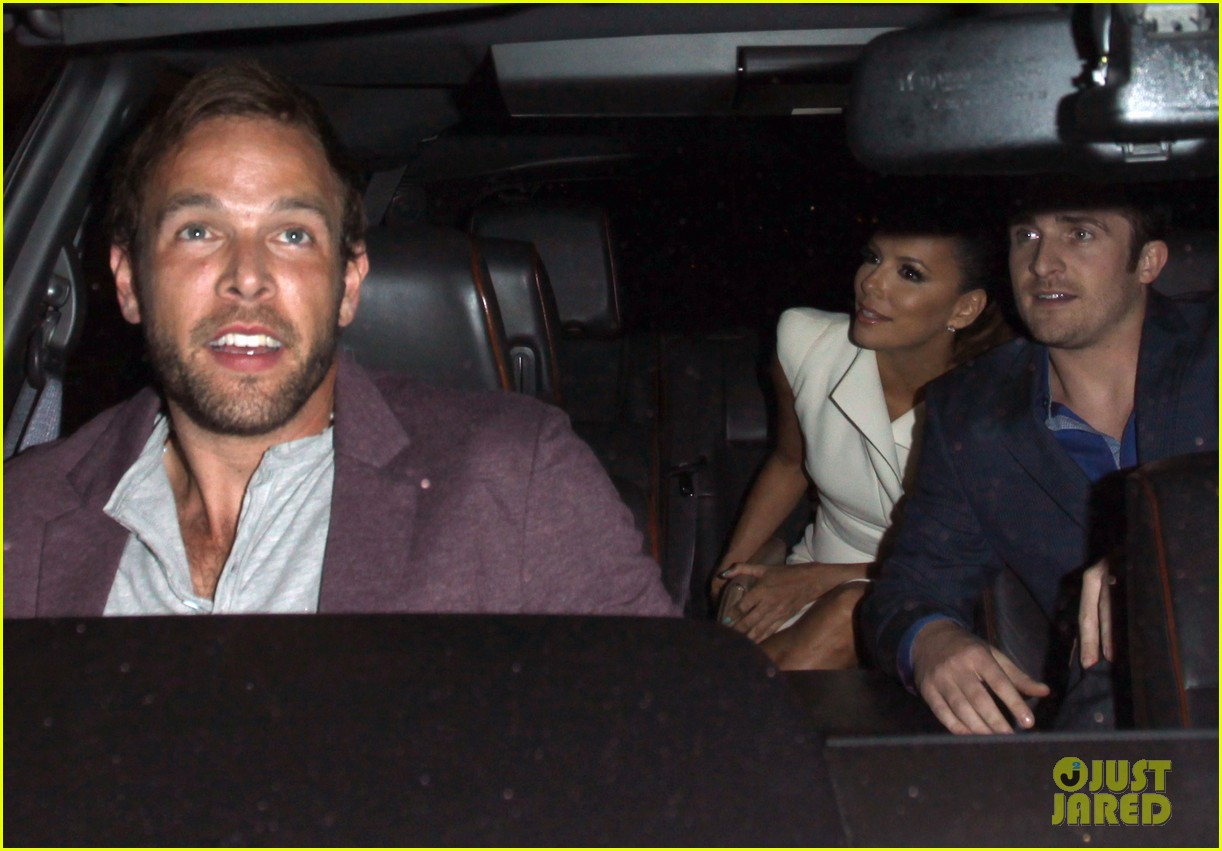 eva longoria beso dinner with ernesto arguello 132857248