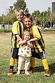 kevin federline cheers sean preston jayden james soccer games 09