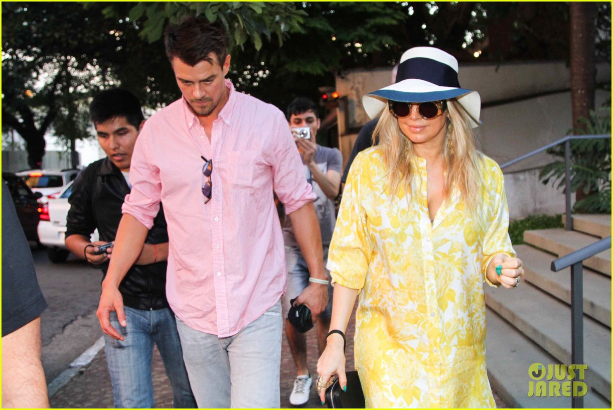 fergie josh duhamel sao paolo lunch lovebirds 03