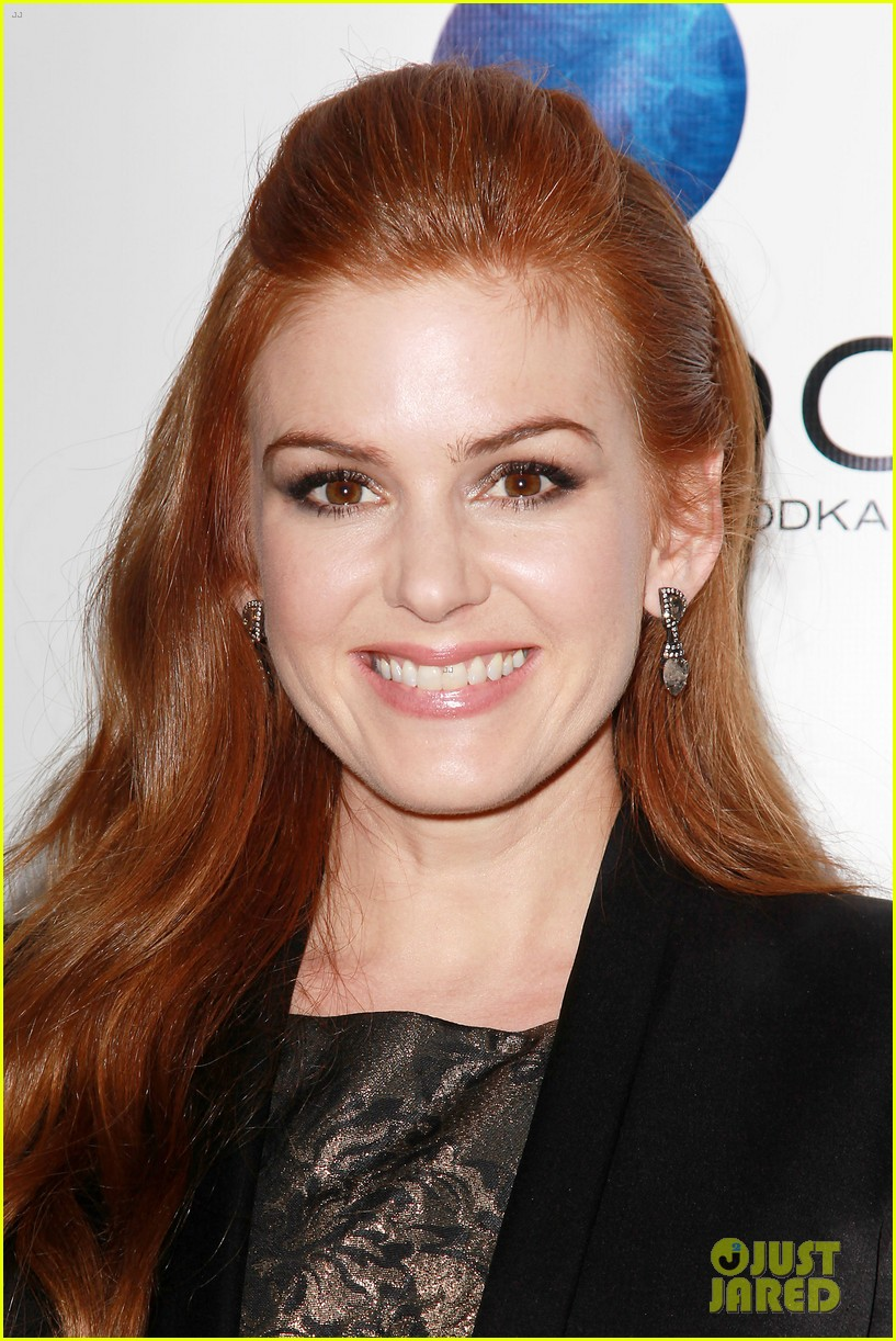 isla fisher gotham magazine cover party 11