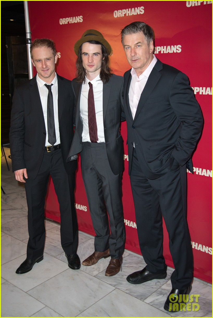 ben foster tom sturridge orphans broadway opening 01