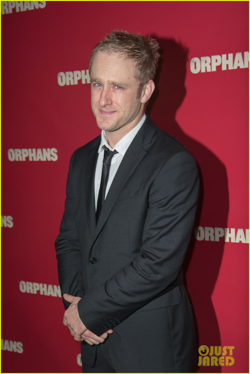 ben foster tom sturridge orphans broadway opening 15