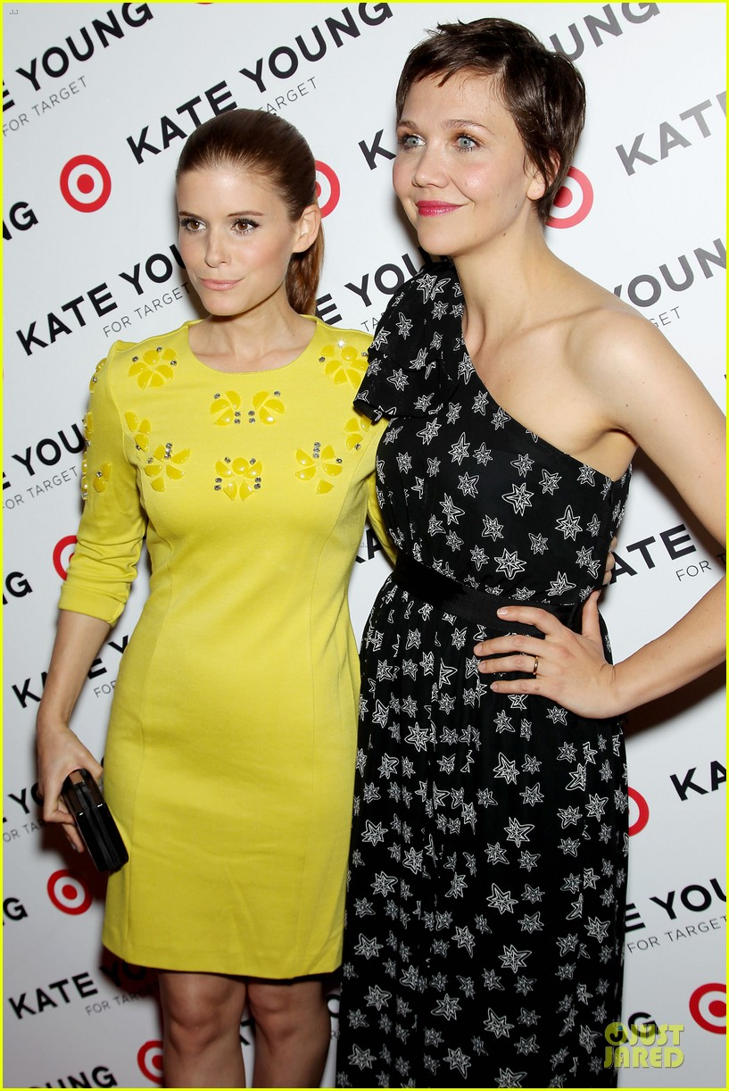 maggie gyllenhaal kate mara kate young for target launch 132846461
