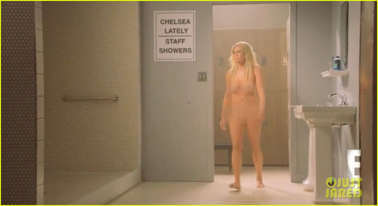 shower nude Chelsea handler