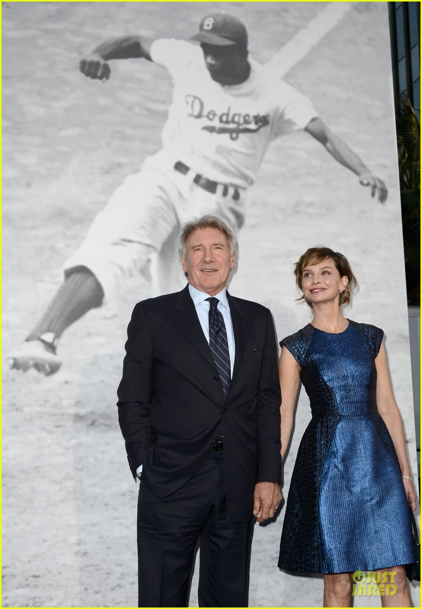 harrison ford calista flockhart 42 hollywood premiere 07