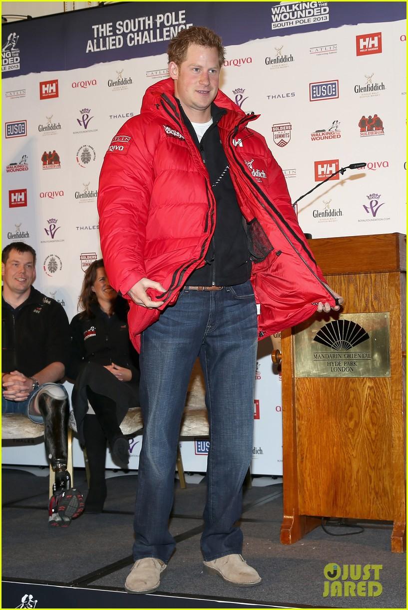 prince harry south pole bound for walking with wounded 03
