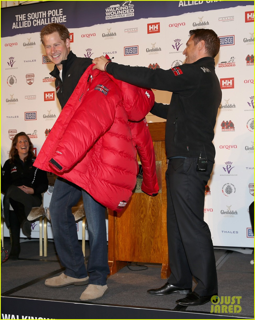 prince harry south pole bound for walking with wounded 05