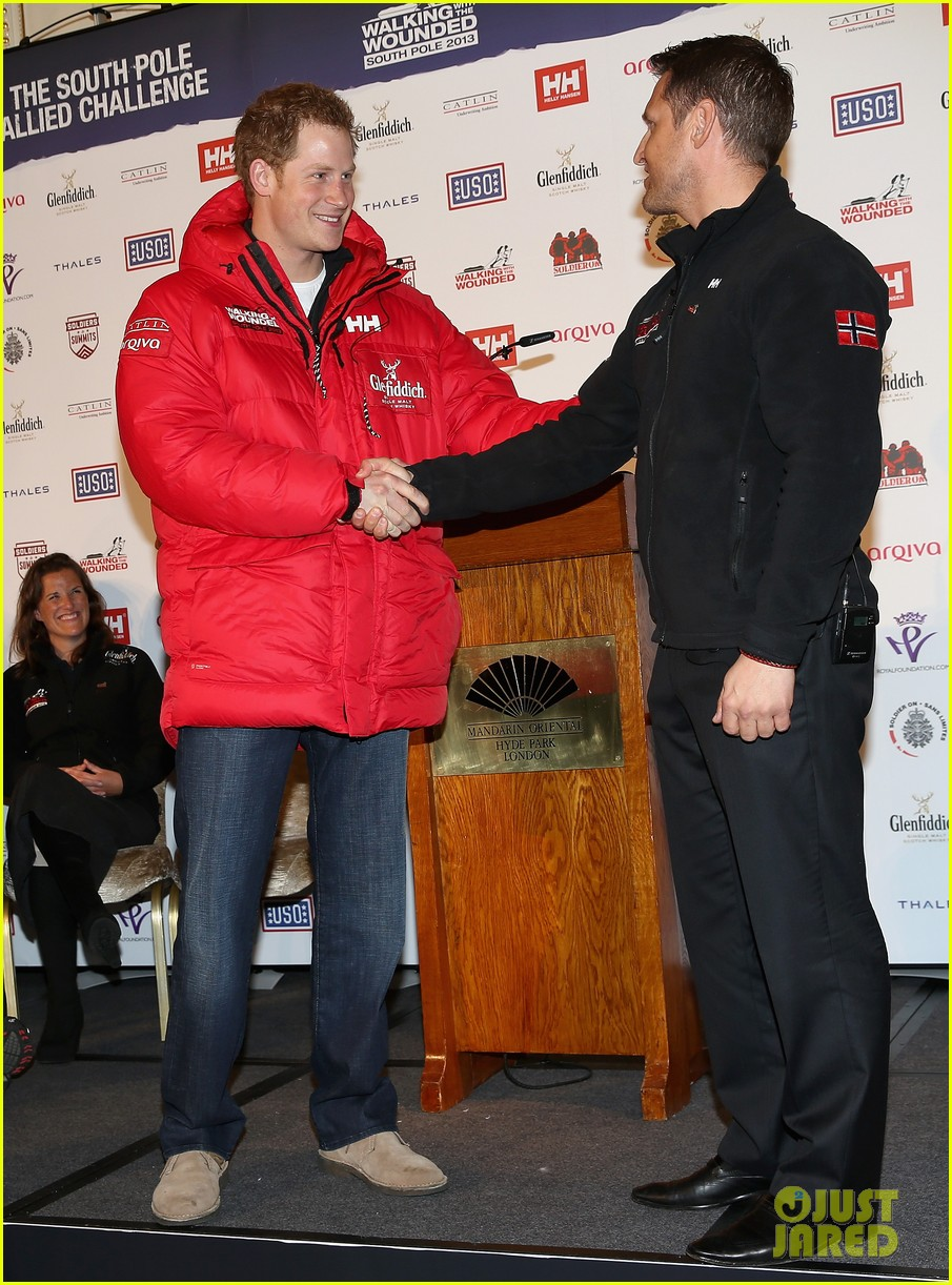 prince harry south pole bound for walking with wounded 072853513