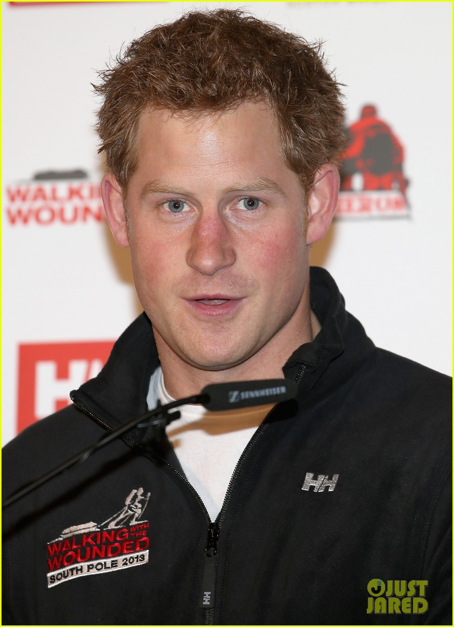 prince harry south pole bound for walking with wounded 09