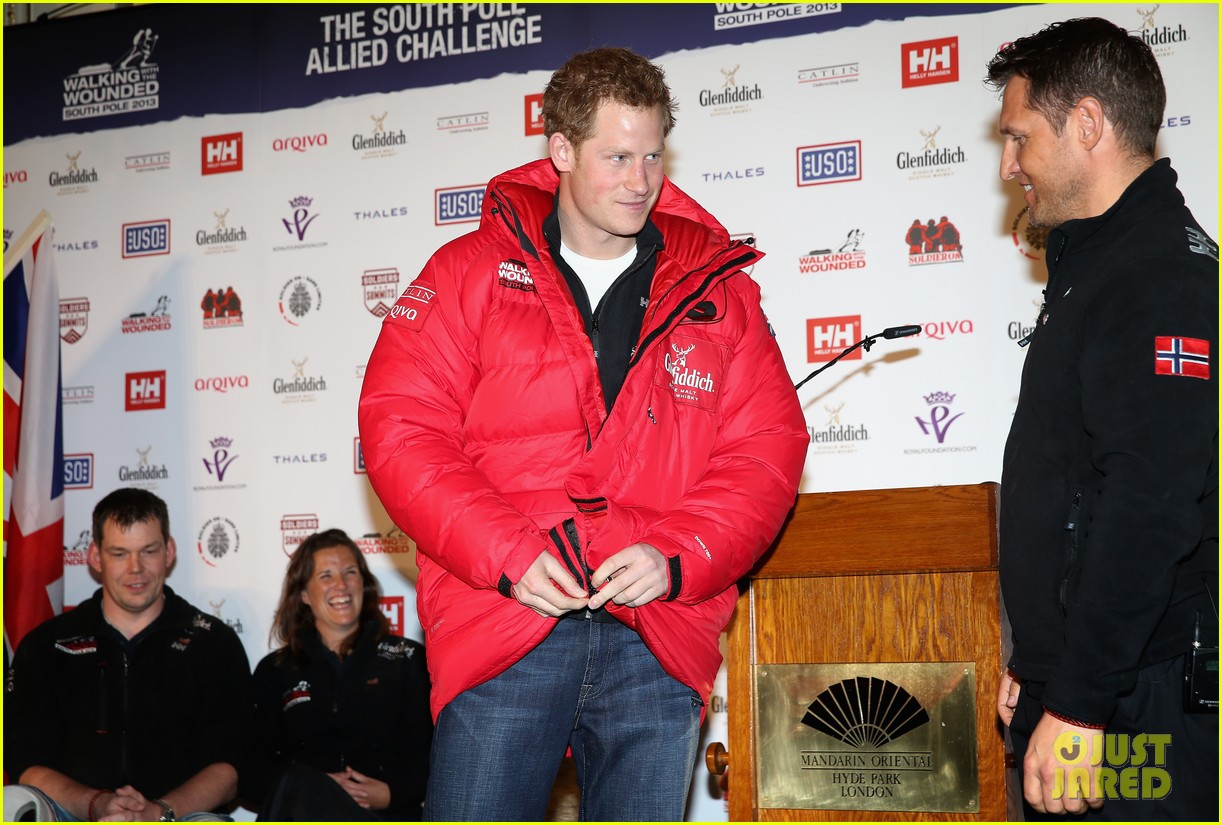 prince harry south pole bound for walking with wounded 11