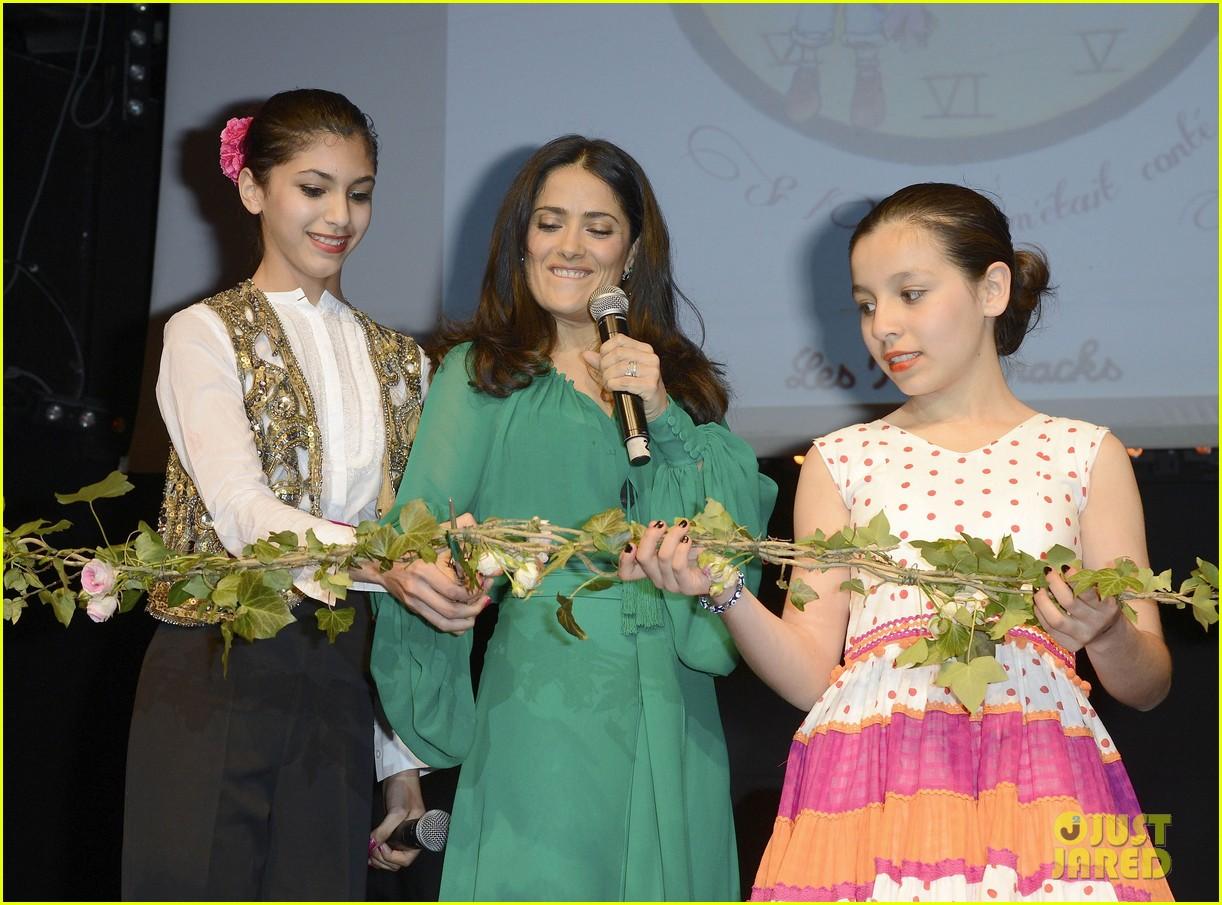 salma hayek les ptits cracks charity dinner 13