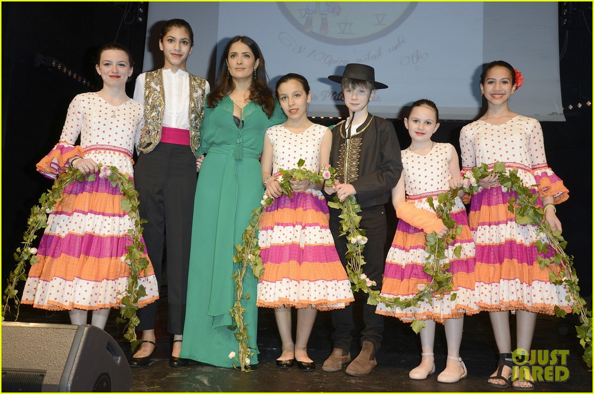 salma hayek les ptits cracks charity dinner 18