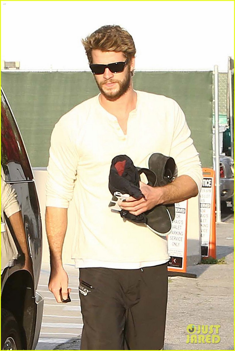 liam hemsworth steps out after the raven casting news 022842997