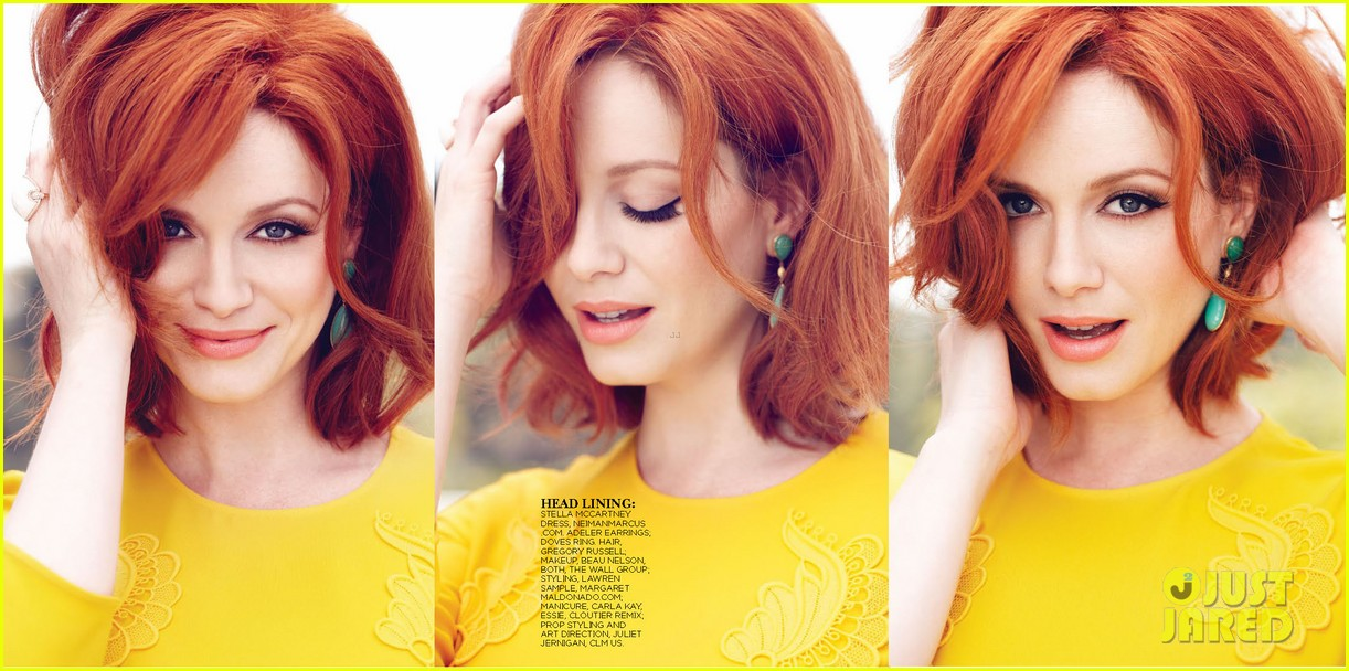 christina hendricks covers flare may 2013 052843385