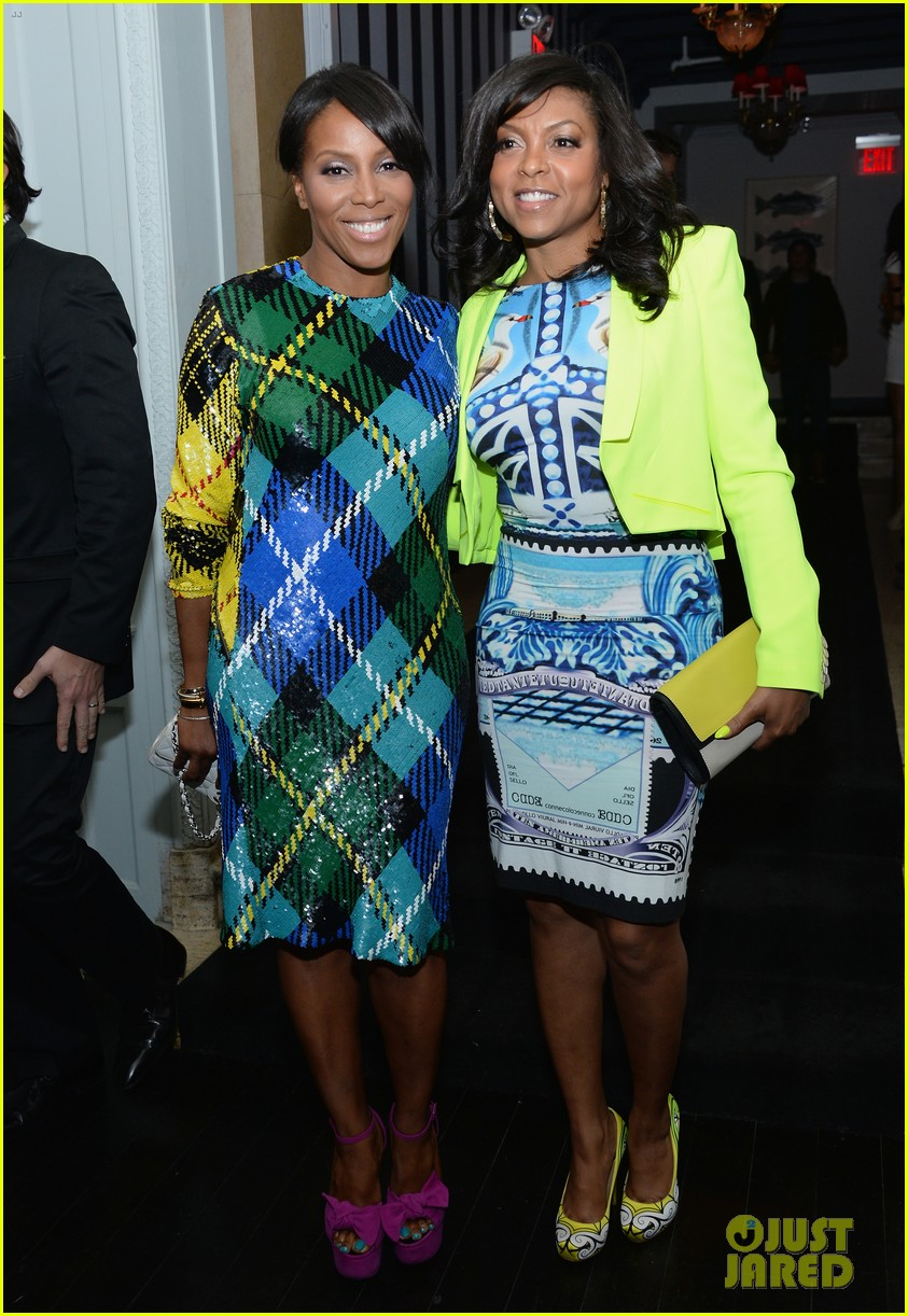 taraji p henson sterling beaumon mud nyc screening 03