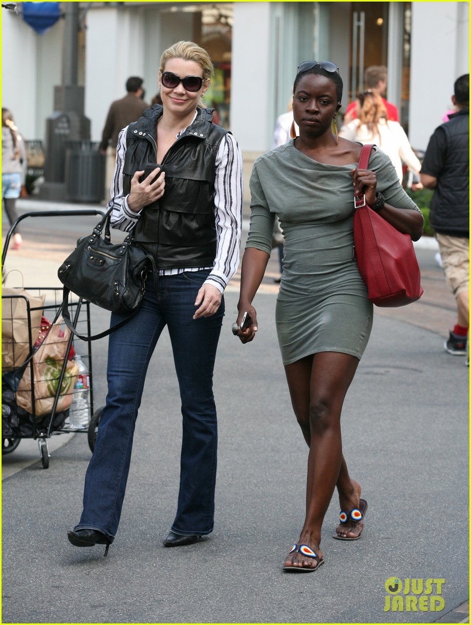 laurie holden danai gurira gal pals at the grove 022845588