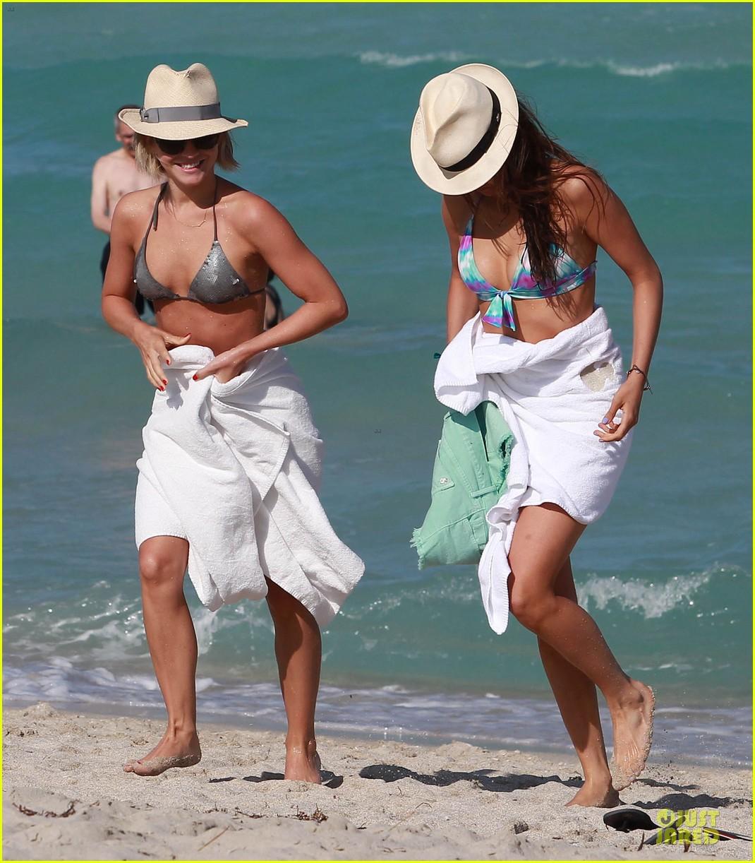 julianne hough nina dobrev bikini miami babes 15