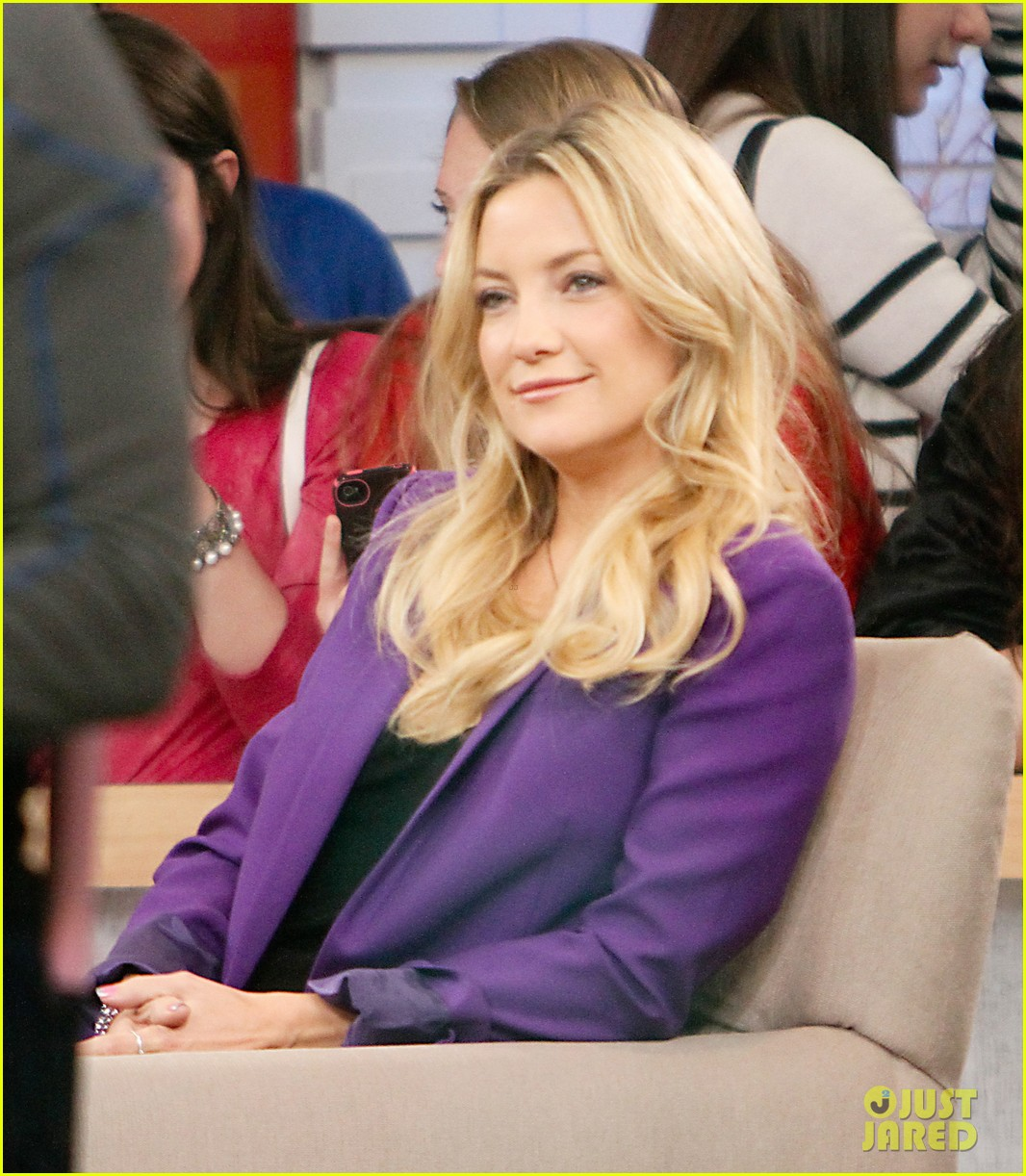kate hudson good morning america appearance 122856567