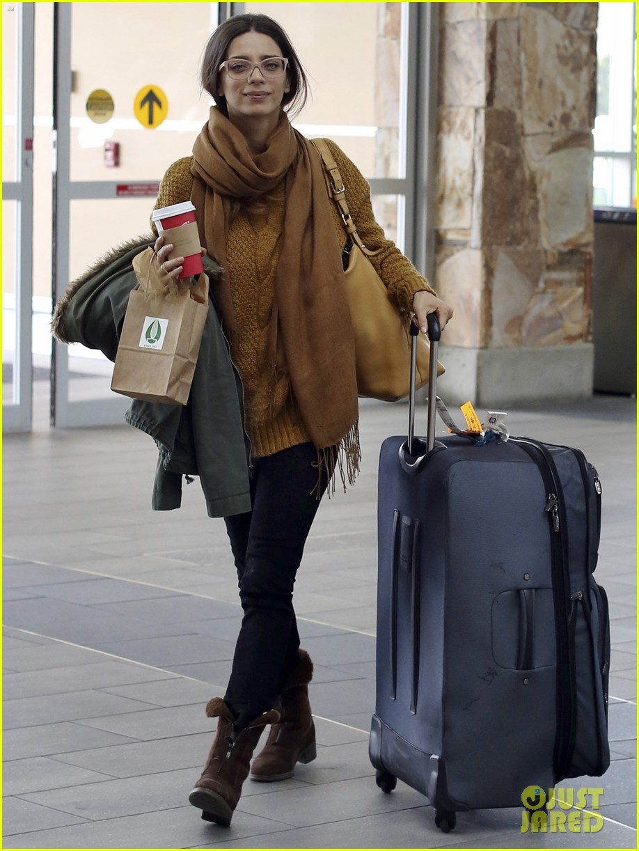 john stamos back to la with angela sarafyan 082841211