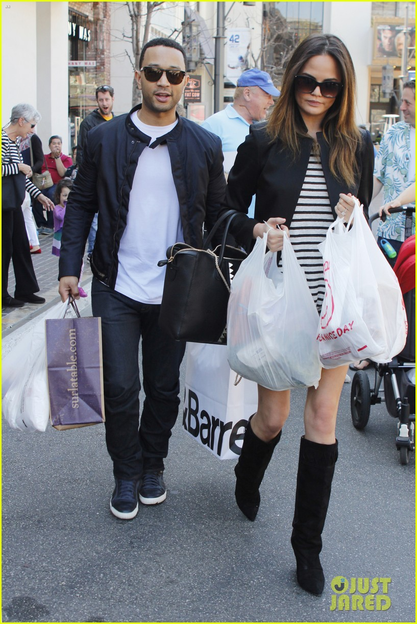 chrissy teigen john legend the grove couple 072841013