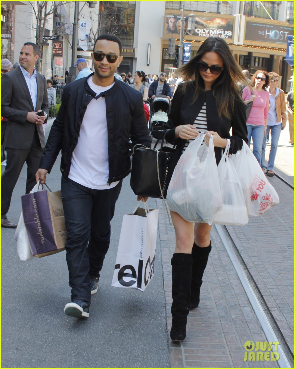 chrissy teigen john legend the grove couple 13