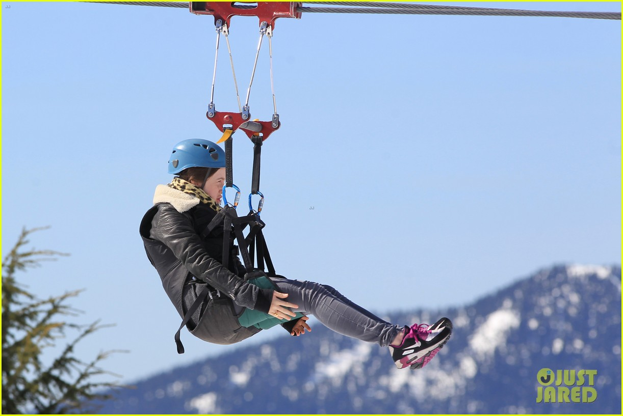 aaron taylor johnson wife sam easter ziplining 212841513