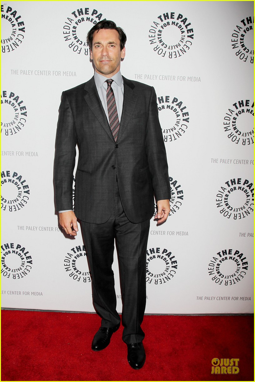 january jones jon hamm mad men paley presentation 16