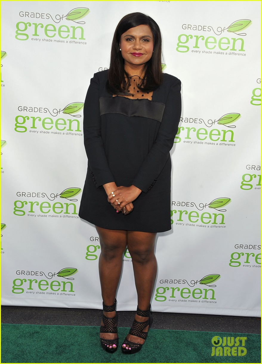 mindy kaling darren criss verde grades of green fundraiser 01