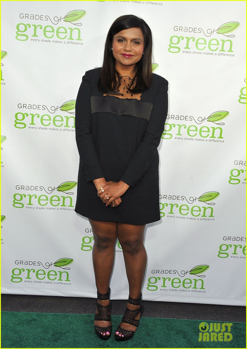 mindy kaling darren criss verde grades of green fundraiser 10