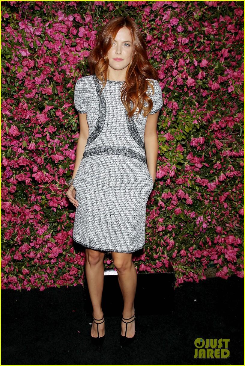riley keough taraji p henson chanel tribeca artists dinner 24