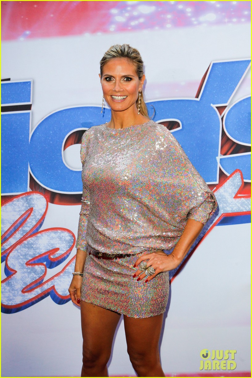 heidi klum mel b americas got talent in new york 082845456