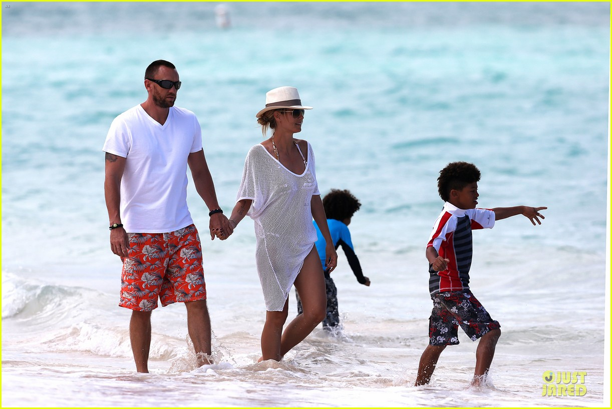 heidi klum family back in l a after hawaii drowning save 36