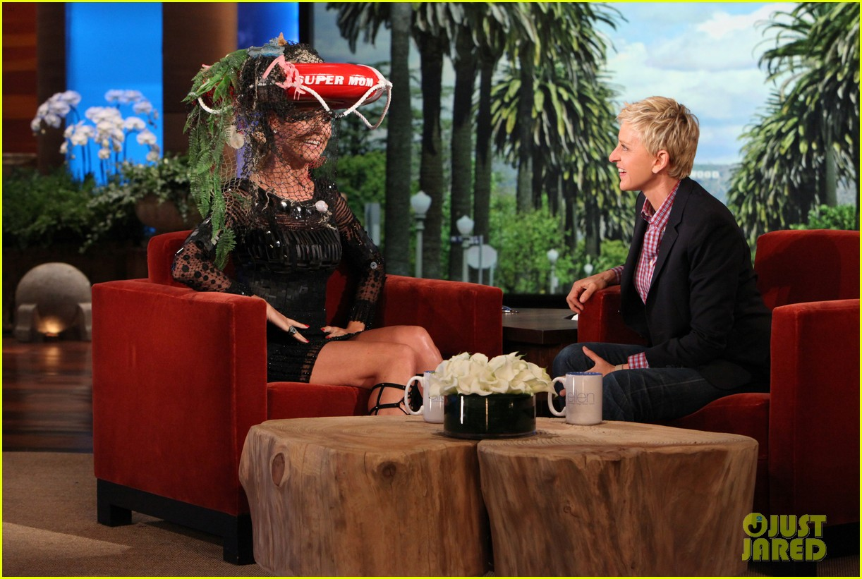 heidi klum family weekend ellen appearance 292850637