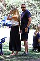 heidi klum martin kirsten soccer game sidelines 04